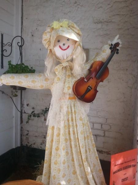 Lady scarecrow in Dahlonega, Georgia, 2012, Ellie Kuykendall